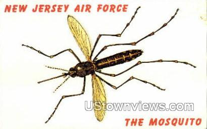 New Jersey Mosquito - Misc Postcard