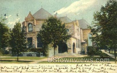 Jarvis Memorial Public Library - Bloomfield, New Jersey NJ Postcard