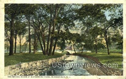 The Second River At Watsessing Park - Bloomfield, New Jersey NJ Postcard