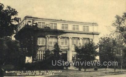 Bloomfield College - New Jersey NJ Postcard