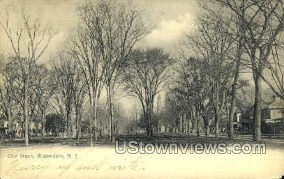 The Green    - Bloomfield, New Jersey NJ Postcard