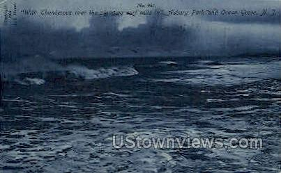 Ocean Grove - Asbury Park, New Jersey NJ Postcard