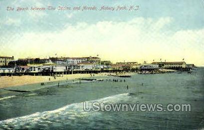 Casino & Arcade - Asbury Park, New Jersey NJ Postcard
