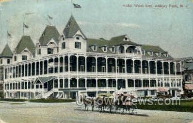 Hotel West End - Asbury Park, New Jersey NJ Postcard