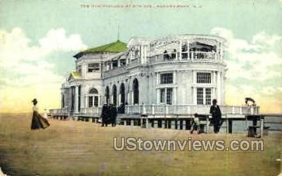 New Pavilion - Asbury Park, New Jersey NJ Postcard