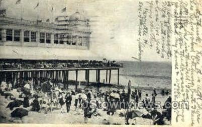 Bathing Grounds & Casino - Asbury Park, New Jersey NJ Postcard