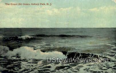 Grand Old Ocean - Asbury Park, New Jersey NJ Postcard
