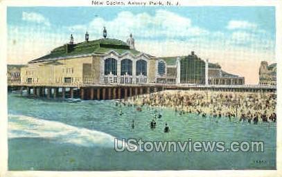 New Casino - Asbury Park, New Jersey NJ Postcard