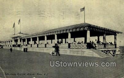 Esplanade Review - Asbury Park, New Jersey NJ Postcard