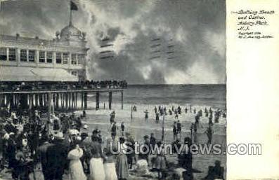 Bathing Beach & Casino - Asbury Park, New Jersey NJ Postcard