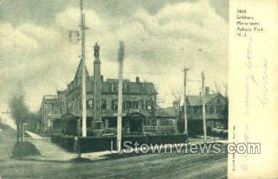Soldiers Monumnet - Asbury Park, New Jersey NJ Postcard