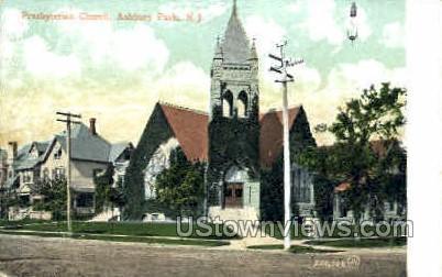 Presbyterian Church - Asbury Park, New Jersey NJ Postcard
