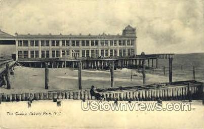 The Casino - Asbury Park, New Jersey NJ Postcard