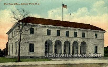 The Post Office - Asbury Park, New Jersey NJ Postcard