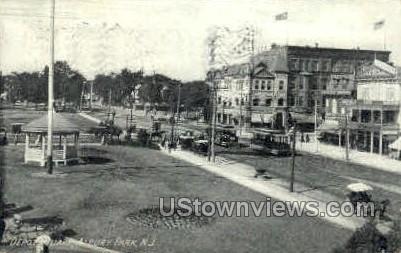 Depot Square - Asbury Park, New Jersey NJ Postcard