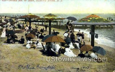 Seventh Ave. - Asbury Park, New Jersey NJ Postcard