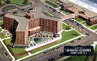 Hotel Berkeley Carteret - Asbury Park, New Jersey NJ Postcard