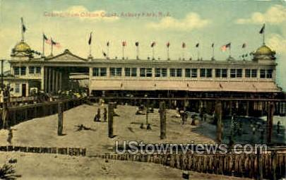 Casino & Ocean Grove - Asbury Park, New Jersey NJ Postcard