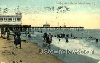 Asbury Park, New Jersey, NJ, Postcard