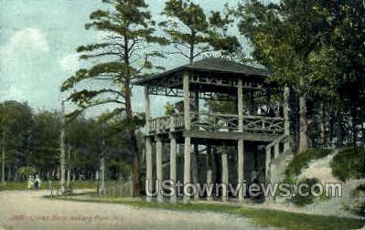 Crows Nest - Asbury Park, New Jersey NJ Postcard
