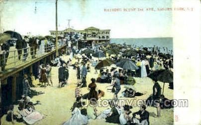 3rd Ave. - Asbury Park, New Jersey NJ Postcard