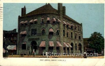 Post Office - Asbury Park, New Jersey NJ Postcard