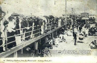 Boardwalk - Asbury Park, New Jersey NJ Postcard