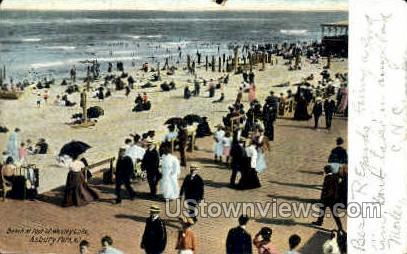 Wesley Lake - Asbury Park, New Jersey NJ Postcard