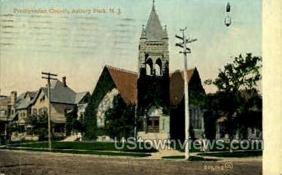 Presbyterian Church - Asbury Park, New Jersey NJ Postcard