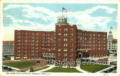 The Berkeley Carteret - Asbury Park, New Jersey NJ Postcard