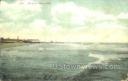 Off Shore - Asbury Park, New Jersey NJ Postcard
