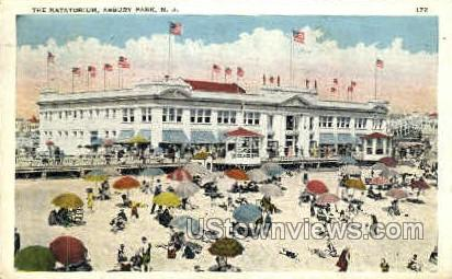 The Natatorium - Asbury Park, New Jersey NJ Postcard