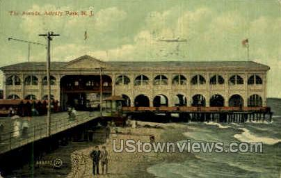 The Arcade - Asbury Park, New Jersey NJ Postcard