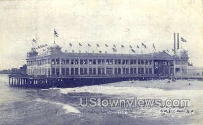 New Casino - Asbury Park, New Jersey NJ Postcard