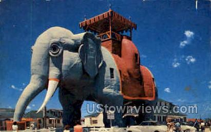 Elephant Hotel - Atlantic City, New Jersey NJ Postcard