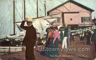 The Inlet - Atlantic City, New Jersey NJ Postcard