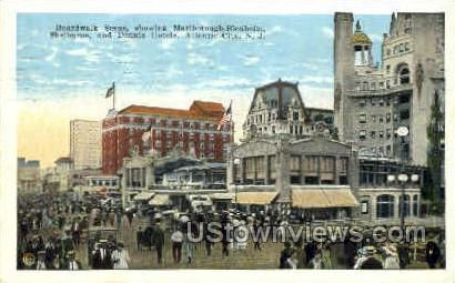 Marlborough Blenheim, Shelburne - Atlantic City, New Jersey NJ Postcard