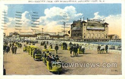 Garden Pier - Atlantic City, New Jersey NJ Postcard