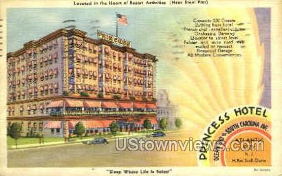 Princess Hotel - Atlantic City, New Jersey NJ Postcard