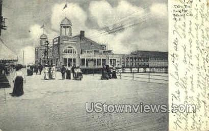 The Steel Pier - Atlantic City, New Jersey NJ Postcard