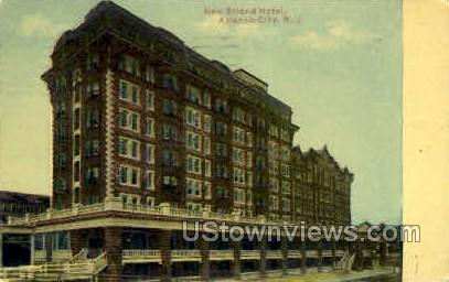 New Strand Hotel - Atlantic City, New Jersey NJ Postcard
