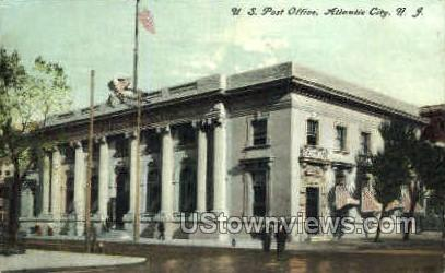 US Post Office - Atlantic City, New Jersey NJ Postcard
