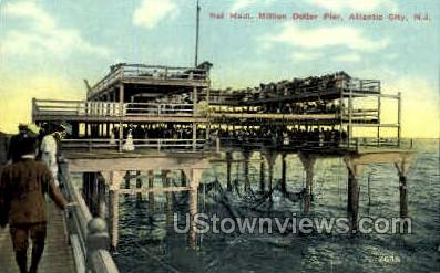 Net Haul, Million Dollar Pier - Atlantic City, New Jersey NJ Postcard
