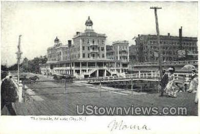 The Seaside - Atlantic City, New Jersey NJ Postcard