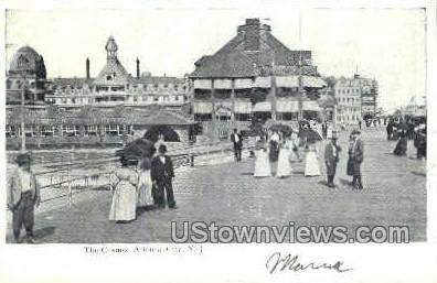 The Casino - Atlantic City, New Jersey NJ Postcard