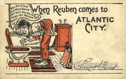 Atlantic City, New Jersey, NJ, Postcard