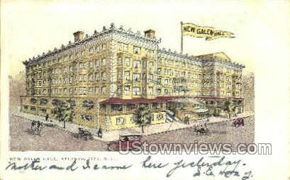New Galen Hall - Atlantic City, New Jersey NJ Postcard
