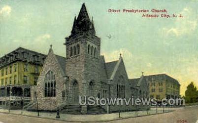 Olivet Presbyterian Church - Atlantic City, New Jersey NJ Postcard