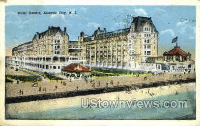 Hotel Dennis - Atlantic City, New Jersey NJ Postcard
