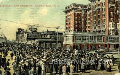 Bardwalk & Chalfonte - Atlantic City, New Jersey NJ Postcard